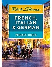 Rick Steves French, Italian & German Phrase Book (Rick Steves Travel Guide)