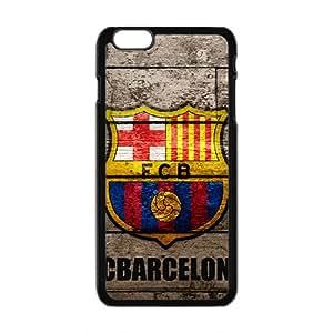 FCB Logo Fashion Comstom Plastic case cover For Iphone 6 Plus