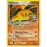 Pokemon - Typhlosion (17) - EX Unseen Forces - Holofoil