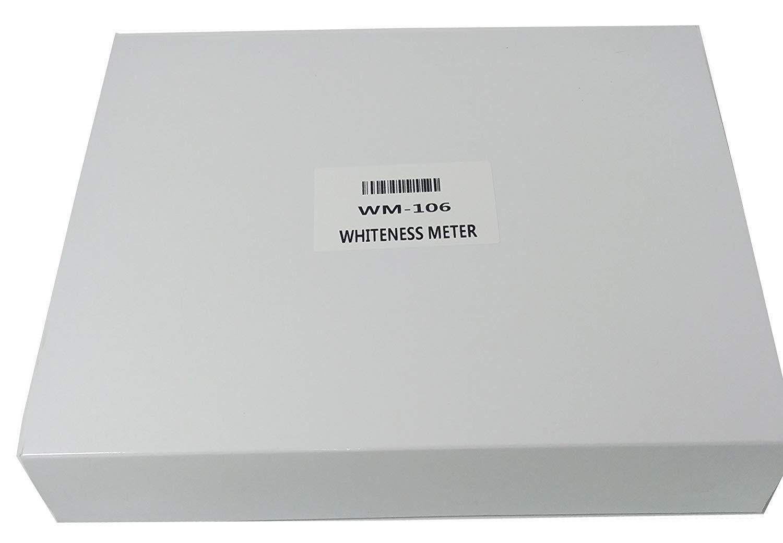 VTSYIQI Whiteness Meter Leucometer 0~120 White Color Degree Tester Measuring Instrument for Paint Paper Powder Salt Flour