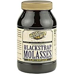 Golden Barrel Blackstrap Molasses (32 fl. oz. Wide Mouth)