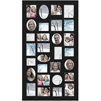 Amazon Com Black 21 Opening Collage Frame