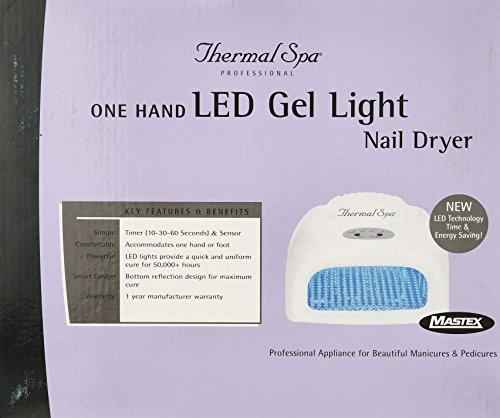 Thermal SPA One Hand Led Gel Light Nair Dryer by Thermal Spa (Image #1)