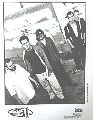 (oddtoes concert posters and music memorabilia 311 Original Set of Four print's - Each 8