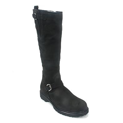46aa92f9760 La Canadienne Women s Hope Black Nubuck Boot 11 M (B)  Amazon.co.uk ...