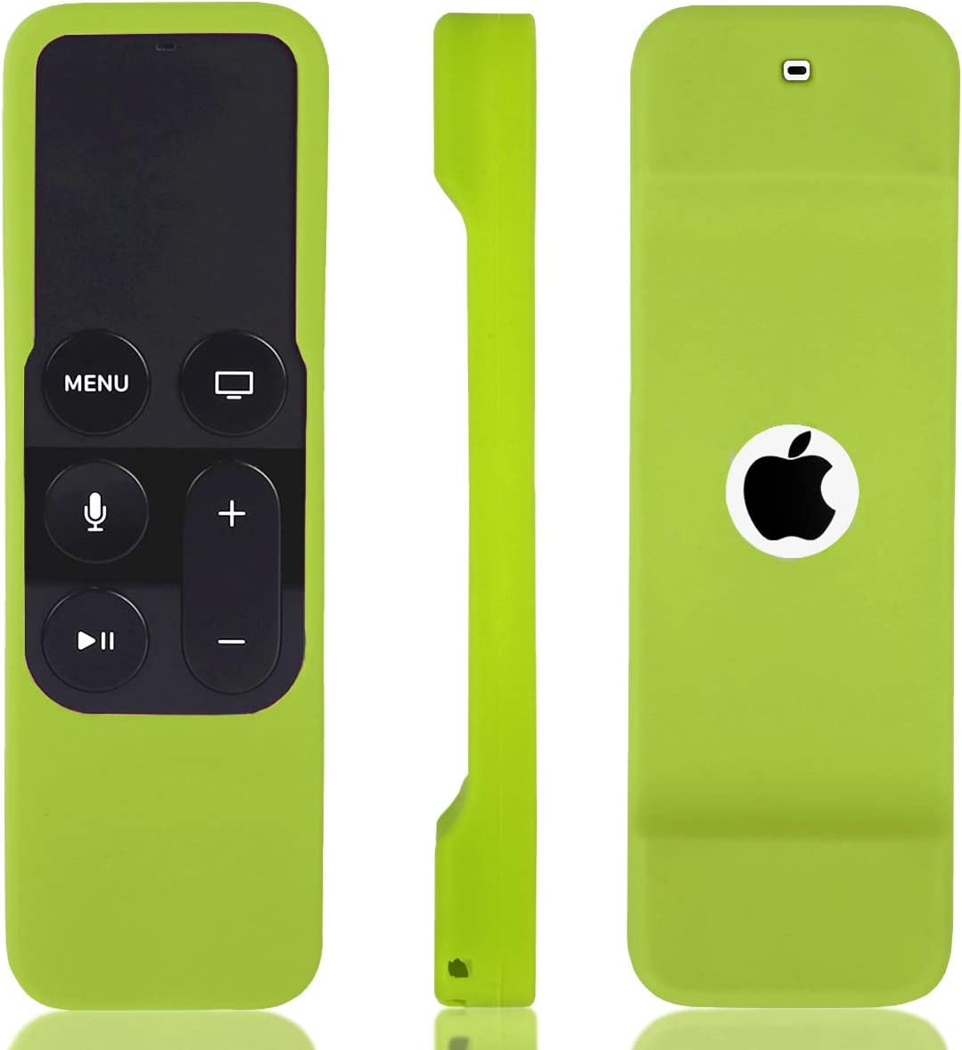 HONONJO Remote Case for Apple TV 4th Generation, Light Weight Anti Slip Shock Proof Silicone Remote Cover Case for Apple TV 4th Gen Siri Remote Controller(Green
