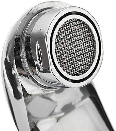CHENBIN-BB 亜鉛合金流域水栓クロームウォールホット冷たい水のデュアルスパウトミキサータップ蛇口バスシャワー盆地をマウント
