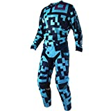 Troy Lee Designs GP Air Maze Turquoise & Navy Jersey/Pant Combo - Size LARGE/34W