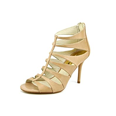 MICHAEL Michael Kors Mavis Open Toe Dark Khaki Sandals Shoes (7.5)