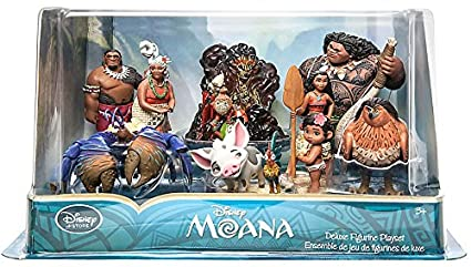 Amazon.com: Disney Moana 10piezas figuras para set de ...