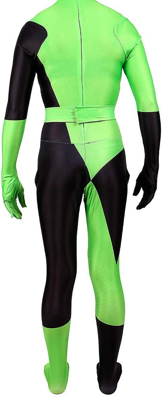 SevenJuly1 Kim Posible Shego Mono Cosplay 3D Bodysuit Halloween ...