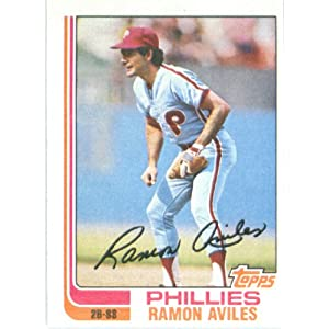 1982 Topps # 152 Ramon Aviles Philadelphia Phillie Baseball Card