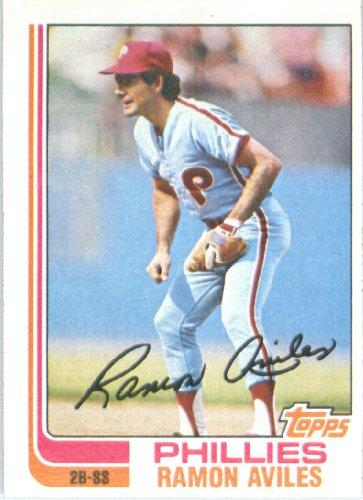1982 Topps # 152 Ramon Aviles Philadelphia Phillie Baseball Card