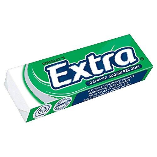 Wrigleys Extra Spearmint (Wrigley's Extra Spearmint - 14g - Pack of 10 (14g x 10))