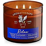 Bath and body works Aromatherapy Relax scented candle 411g