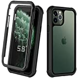 ORDTBY iPhone 11 Pro case, Full-Body Heavy-duty Protection with Built-In Screen Bumper Protector 360 Protective Shockproof Rugged Cover for iPhone 11 Pro (5.8 inch)