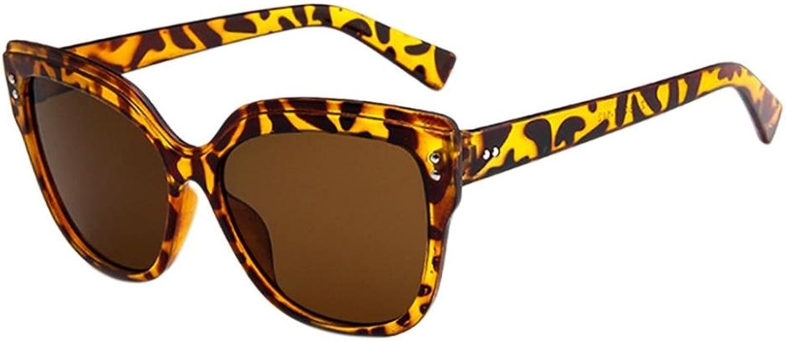 21e35d7364dc92 Sonnenbrille Damen Herren Retro Vintage Rapper Sonnenbrillen Brillen