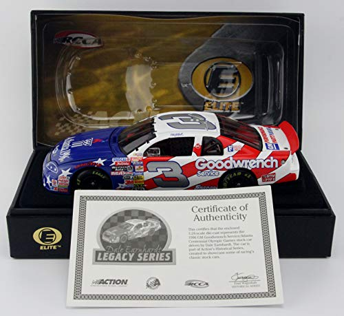 RCCA Dale Earnhardt #3 GM Goodwrench / 1996 Olympics/Monte Carlo Elite 1/24 Scale