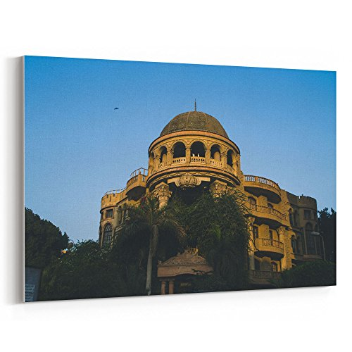 Westlake Art - Architecture Dome - 12x18 Canvas Print Wall Art - Canvas Stretched Gallery Wrap Modern Picture Photography Artwork - Ready to Hang 12x18 Inch (8310 Housing)
