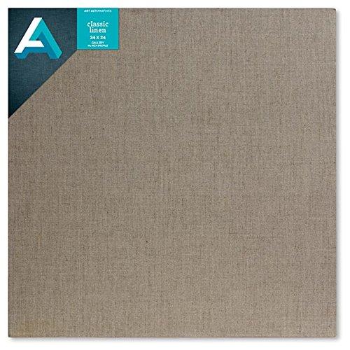 Art Alternatives Linen Stretched Canvas 24x24 by Art Alternatives