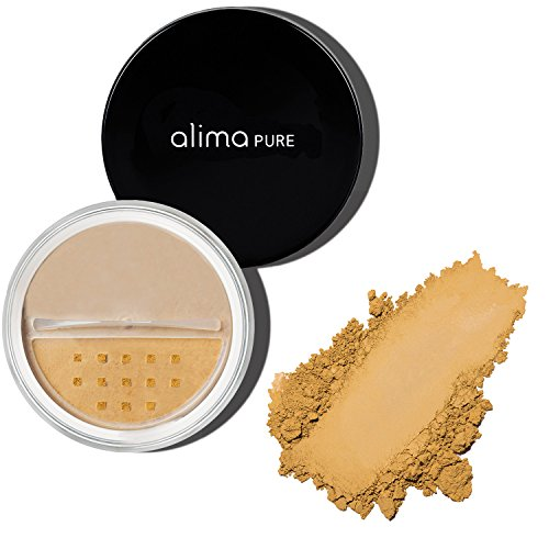 Alima Pure Satin Matte Foundation - Warm - Viii Satin