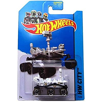 Hot Wheels 2014 Hw City Planet Heroes Mars Rover Curiosity 71/250: Toys & Games