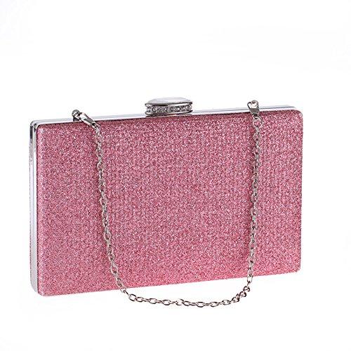 De Pure Paquet Dîner Mode Main Sac De Simple à Pink Couleur De Femme qFAgROw