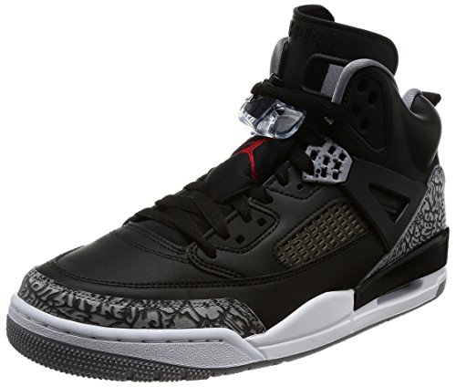 Jordan Spizike Mens Basketball Shoes Black/Grey/Red 315371-034 (8.5 D(M) US) by Jordan
