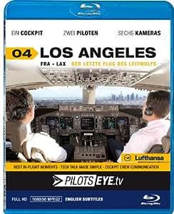 PilotsEYE.tv   LOS ANGELES  :  Blu-ray Disc®  :  Cockpitflug Lufthansa   Boeing 747   Der letzte Flug des Leitwolfes   Bonus: Los Angeles Tour [Blu-ray] [Reino Unido]