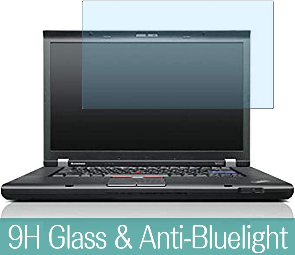 """Synvy Anti Blue Light Tempered Glass Screen Protector for Lenovo Thinkpad W530 15.6"""" Visible Area 9H Protective Screen Film Protectors"""