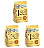 Mulino Bianco: ''Tarallucci'' Biscuits made with fresh eggs 12.3 Oz (350g) - Pack of 3 [ Italian Import ]