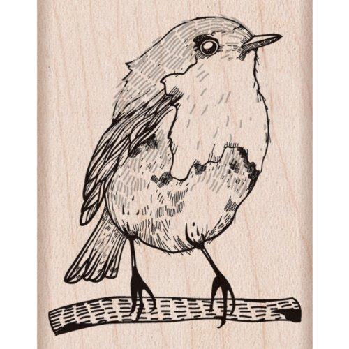Hero Arts Bird Woodblock (Bird Rubber Stamp)