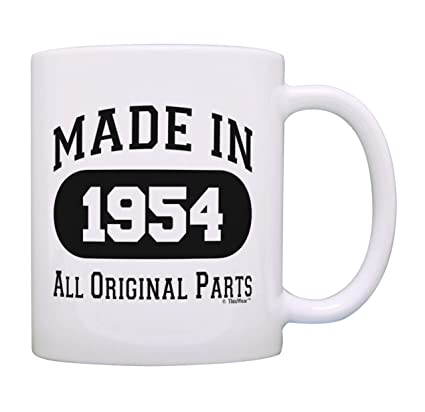 Amazon 65th Birthday Gifts For Men Made 1954 All Original Parts