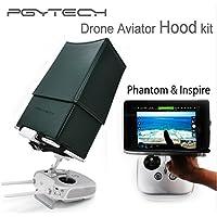 gouduoduo2018 5.5 7.9 9.7 Inch Drone Aviator Hood Kit DJI Phantom 4 Phantom 3 2 1 Pro/Adv DJI Inspire 1 Remote Controller Monitor Sun Hood Sunshade for Tablets (Green, 5.5 Inch)