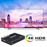 EZCOO HDMI Splitter 1x2 4K 60Hz 4:4:4 18Gbps HDR
