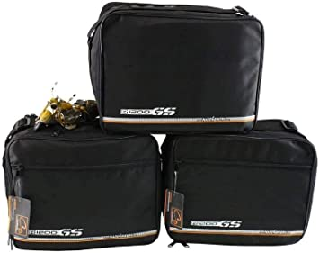 Made4bikers Promotion Bag Komplettset Innentaschen Topcase Und Koffer Passend Für Bmw R1200gs Lc R1200 Gs Lc K50 Ab Bj 2013 Schwarz Auto