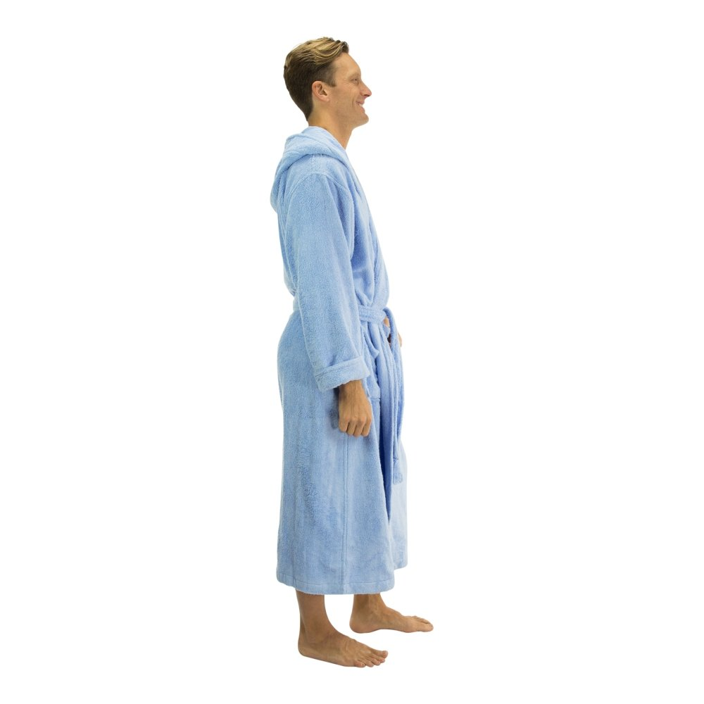 Comfy Robes Mens Bamboo Hooded Robe BMB201