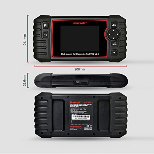 iCarsoft Auto Diagnostic Scanner VOL V2.0 for Volvo/SAAB with ABS Scan,Oil Service Reset ect by iCarsoft (Image #7)