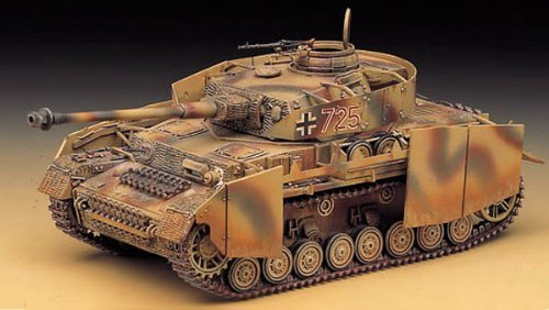 1/35 Panzer IV Aust.h with Armor 13233 (1327) - Plastic Model Kit ()