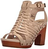 Jambu Women's Valentina Platform Dress Sandal, Nude, 6 M US