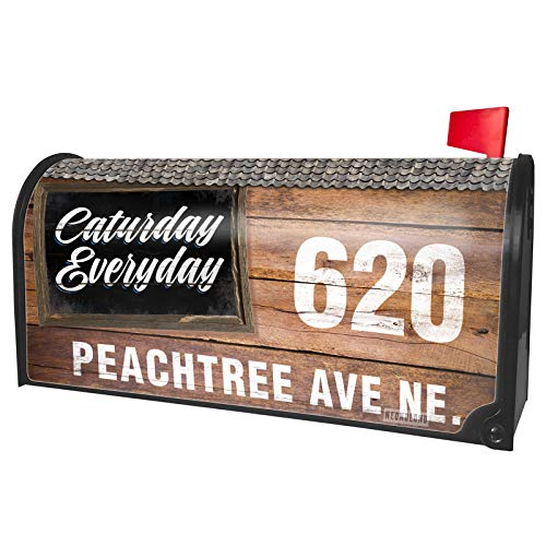 NEONBLOND Custom Mailbox Cover Classic Design Caturday Everyday]()