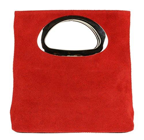 Red Cartera Girly mujer de mano para Handbags zp1wqv