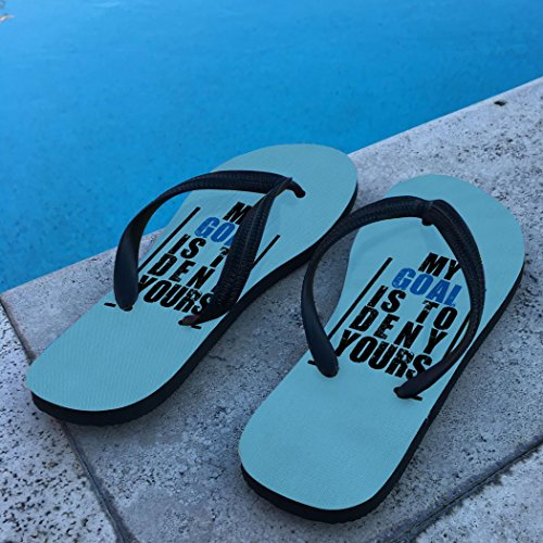 Flip Flops De Hockey Mon But Est De Nier La Tienne Carolina