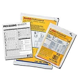 Black & White Film Developing Chemistry Combo with Basic Instructions & Times - Kodak D76 & Powdered Fixer