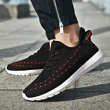 WUYIXIAO ShoesMens Shoes Outdoor Footwear Soft Sports Shoes Man Running Shoes Ultralight Walking Jogging Non-Slip Big Size Sneakers