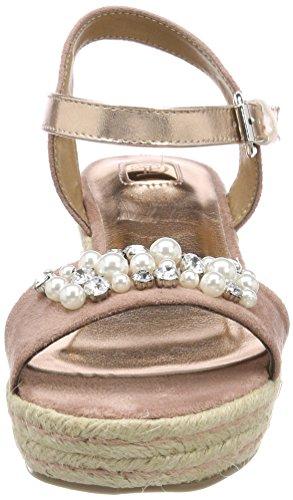 rosa Sandalo cinturino antico Donna 4895802 caviglia alla rosa Tom Tailor ZPq4ZB