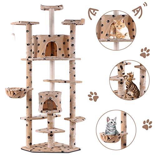 Casa de mascotas Gran torre de actividades