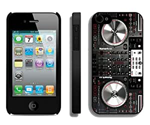 Fashionable And Durable Designed Case For iPhone 4S With Numark NS6 Disc Jockey DJ Turntable Phone Case