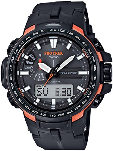 CASIO watches PROTREK Triple Sensor Ver.3 equipped with the world six stations corresponding Solar radio PRW-6100Y-1JF Men's