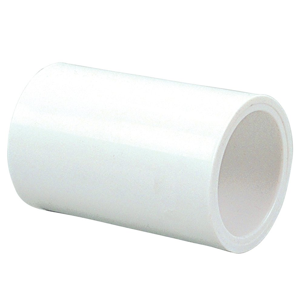 """NIBCO 429 Series PVC Pipe Fitting, Coupling, Schedule 40, 2"""" Slip"""